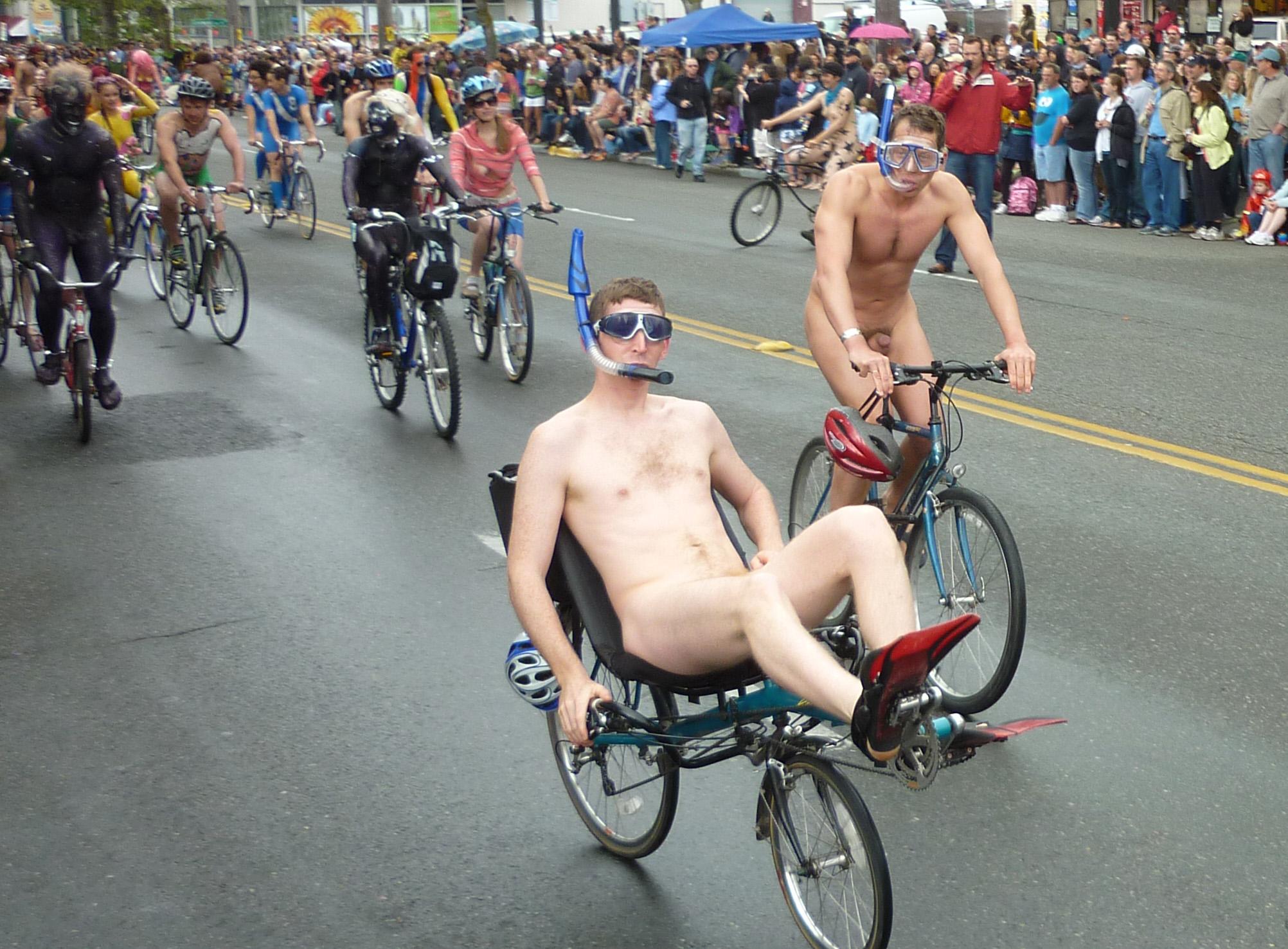 bikers get naked